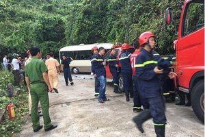 Kiểm tra nồng độ cồn và ma túy lái xe khách gây tai nạn trên đèo Bạch Mã