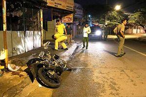 1 người tử vong, 1 người bị thương nặng trên đường đi nhậu về