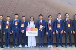 Việt Nam giành 7 Huy chương tại kỳ thi Olympic Vật lý Châu Á 2019