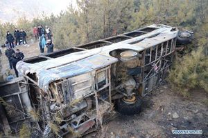 Lật xe công nông tại Trung Quốc, 8 người thiệt mạng