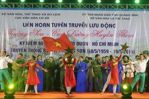 Liên hoan tuyên truyền lưu động 'Trường Sơn – Con đường huyền thoại'