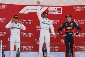 Thắng chặng Tây Ban Nha GP, Hamilton trở lại ngôi đầu F1