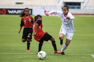 Việt Nam đến gần với vòng bán kết giải bóng nữ U15 Đông Nam Á 2019