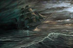 Câu chuyện sởn gai ốc về con tàu ma Người Hà Lan bay
