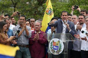 Phe đối lập Venezuela công bố thư mời Mỹ can thiệp quân sự