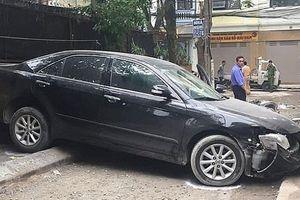 Xác định nguyên nhân vụ nữ tài xế Camry lùi xe đâm chết người trên phố Khương Trung