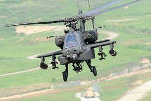 Mỹ chuyển giao trực thăng tấn công đa năng Apache đầu tiên cho Ấn Độ