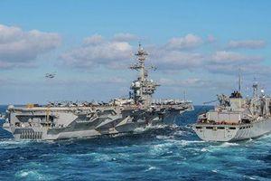 Iran coi tàu sân bay Mỹ chỉ là mục tiêu di động