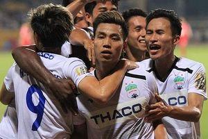 Vòng 9 V-League: HAGL vào guồng, SHB Đà Nẵng tiếp đà chiến thắng