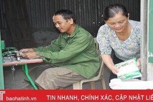 Những 'đại gia chân đất' hùn vốn mở xưởng sản xuất men vi sinh ở Can Lộc