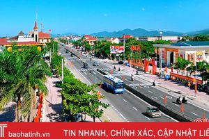 UBND tỉnh cho ý kiến các quy hoạch thị trấn Cẩm Xuyên, công viên trung tâm TP Hà Tĩnh