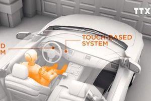 Vôlăng cảm ứng ngăn tài xế say rượu khởi động xe
