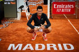 Novak Djokovic lần thứ ba vô địch Madrid Open