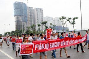 Hà Nội: Vì sao hàng trăm cư dân KĐT Ngoại giao đoàn phản đối CĐT Hancorp?
