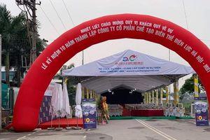 Công ty CP Chế tạo biến thế điện lực Hà Nội chiếm đường đi để tổ chức sự kiện?