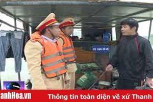 Công an huyện Vĩnh Lộc xử lý 6 trường hợp khai thác cát trái phép