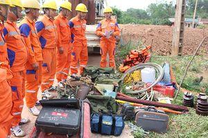 Điện lực Lạng Sơn: Chú trọng an toàn vệ sinh lao động, phòng chống cháy nổ