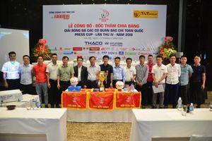 40 đội bóng tham dự Press Cup 2019