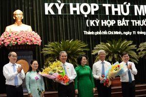 Chân dung hai tân Phó Chủ tịch TP.HCM