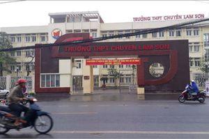 Hiệu trưởng trường chuyên Lam Sơn, Thanh Hóa nộp đơn xin từ chức