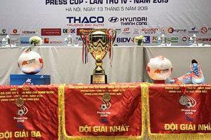 Press Cup 2019: Sẵn sàng cho những trận cầu nảy lửa