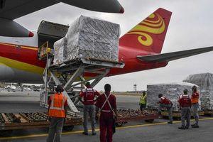 Máy bay Trung Quốc chở hàng viện trợ nhân đạo đến Venezuela