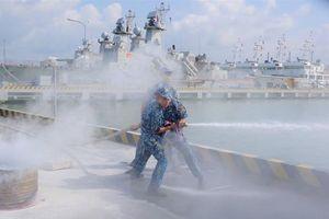 Lữ đoàn 167 tổ chức hội thao phòng cháy, chữa cháy