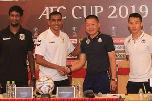 HLV Chu Đình Nghiêm: 'Tôi chỉ mong thắng Tampines Rover với nửa bàn thắng'