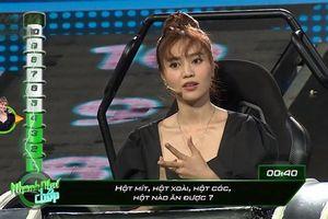 Ninh Dương Lan Ngọc phàn nàn về MC Hari Won tại 'Nhanh như chớp'