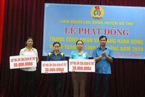 Thái Bình: LĐLĐ huyện Vũ Thư trao hỗ trợ 5 nhà Mái ấm công đoàn