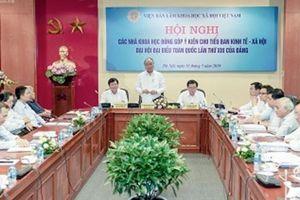 Hướng đến Đại hội Đại biểu toàn quốc lần thứ XIII của Đảng: Các nhà khoa học đóng góp ý kiến cho Tiểu ban Kinh tế - Xã hội