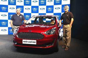 Ford ra mắt xe Aspire CNG bản đặc biệt, giá siêu rẻ chỉ 204 triệu đồng