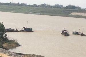 Thanh Hóa: Bắt 6 vụ khai thác cát trái phép, phạt gần 40 triệu đồng