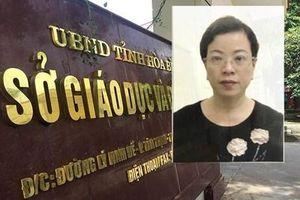 Vụ gian lận điểm thi ở Hòa Bình: Bắt tạm giam thêm một nữ phó trưởng phòng Sở GD-ĐT