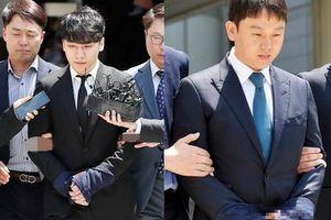 Seungri và chồng nữ diễn viên Park Han Byul chính thức bị còng tay, bắt giam vì tội mua bán dâm và môi giới mại dâm