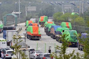 Hàn Quốc ưu tiên sớm viện trợ lương thực cho Triều Tiên