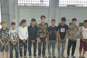 Nghệ An: 11 đối tượng chặn xe cướp đêm trên Quốc lộ 1A sa lưới