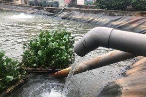 Hà Nội: Trạm xử lý phân bùn bể phốt Cầu Diễn xả thải đúng quy định