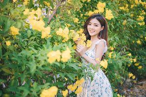 Đẹp trong trẻo và dịu dàng, hot teen Hồng Hạnh trở lại với hình ảnh nàng thơ