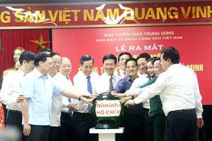 Phát mạng giao diện mới Trang Thông tin điện tử Hồ Chí Minh