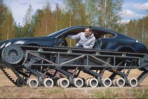 'Biến' Bentley Continental GT thành xe tăng hầm hố