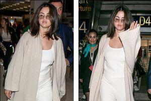 Selena Gomez lộ gương mặt phù, mệt mỏi khi xuất hiện ở sân bay