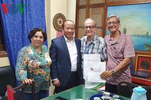 Phó Tổng Giám đốc VOV làm việc với Viện Phát thanh Truyền hình Cuba