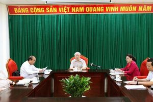 Tổng Bí thư, Chủ tịch nước chủ trì họp lãnh đạo chủ chốt