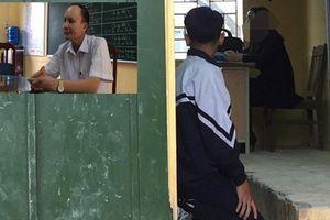 Giáo viên ở Hà Nội phạt học sinh quỳ gối trước bục giảng: Hiệu trưởng nói gì?