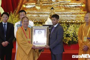 10 kỷ lục được lập tại Đại lễ Vesak 2019 chùa Tam Chúc, Hà Nam