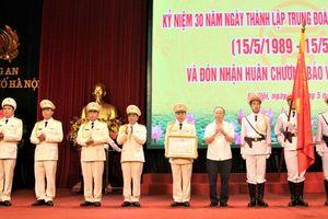 Trung đoàn Cảnh sát cơ động đón nhận Huân chương Bảo vệ Tổ quốc hạng Ba