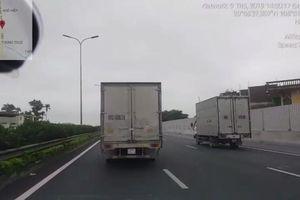 Xử lý xe tải không nhường đường cho xe ưu tiên