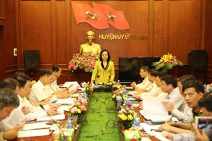 Kiểm tra việc thực hiện Chương trình số 03-CTr/TU tại Huyện ủy Ứng Hòa