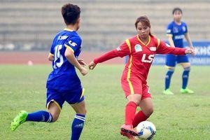 Giải bóng đá nữ VĐQG Cúp Thái Sơn Bắc 2019 đổi thể thức, tăng tính ganh đua